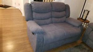 Reclining love seat for sale $450 OBO