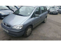 Vauxhall Zafira 1.8i 16v auto Life 7 SEATER - 2004 54-REG - 4 MONTHS MOT
