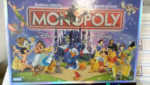 Hasbro Monopoly Disney Edition NOW with 7 collectors characters!