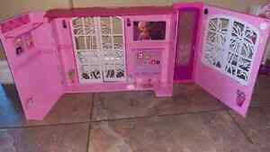 Barbie house with room sets and accessories