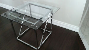 Glass  End / Side Table