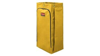 Rubbermaid 34 Gal Vinyl Bag Wzipper For High Capacity Cleaning Cart 1966881