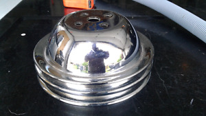 2 grouve pulley  chrome