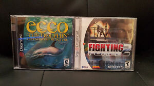 2 Dreamcast Games: Fighting Force 2 & Ecco the Dolphin