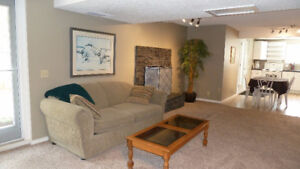FURNISHED SUITE AVAILABLE OCTOBER 1