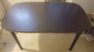 ***Black Dining Table with 4 Chairs***