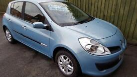 Renault Clio 1.5dCi Rip Curl. 1 OWNER. WARRANTY. FSH & CAMBELT DONE. £30 TAX.