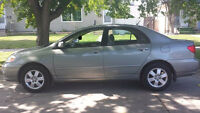 Toyota Corolla LE. Very Low Kms. $6399.00
