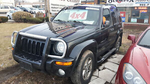 2004 Jeep Liberty 4X4 - POWER SLIDER ROOF, CERTIFIED/EMISSIONS