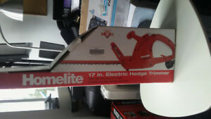Selling Homelite 17 in. electric hedge trimmer