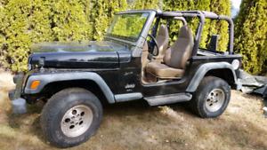 2000 Jeep TJ parts