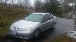 2005 Honda Civic Dx Sedan