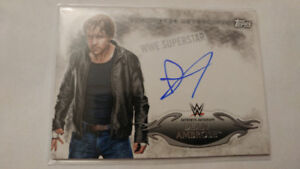 Dean Ambrose WWE Topps Undisputed Auto Card