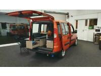 Fiat Doblo Dynamic 1.9L Diesel Micro Camper Campervan Motorhome / 3 In One MPV