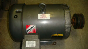 7.5 hp electric motor  Baldor - Reliancer  , 575 volts 3 phase