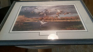 Ducks Unlimited print.