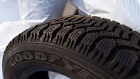 As new, 4 Goodyear Winter Tires, 195mm