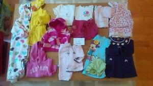 6-12 months girls clothing. $25 for 13 items Kitchener / Waterloo Kitchener Area image 1