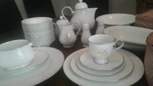 China Dinnerware Service for 12