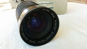 Vivitar 28-135mm F3.3-4.5 with 67mm Clear Filter