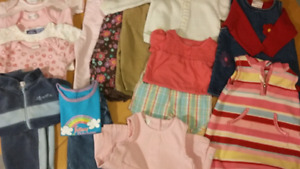 Girls Clothing Lot 6-12 months