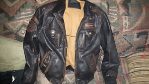 Genuine leather Danier Aviator jacket