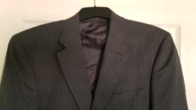 The label suit 100% wool UK chest 40in, trousers 34in, smoke-free home for sale  Staines-upon-Thames, Surrey
