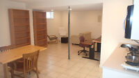 4 min. walk to UC or C-train new and legal suite