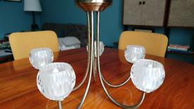 Brass ceiling light lamp g9 LED