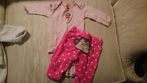 Lot of Baby Girl Clothes - 6 Months