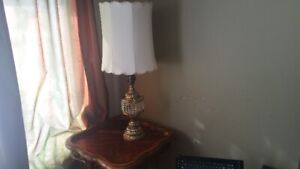 Big Table lamp 41'' tall with 2 switches for different regimes o