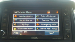 DDIN Uconnect GPS Navigation with HARD DRIVE