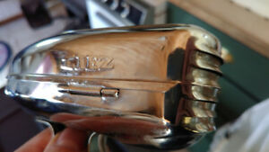 Vintage Liez Chrome Bicycle horn