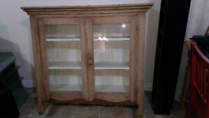 Solid wood hutch for sale $80