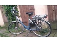 Gazelle Innergy ELECTRIC bicycle Dutch bike +battery+charger power assist