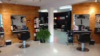 Localisation chaise de coiffure