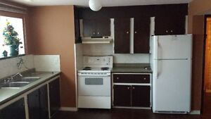 West Quesnel One Bedroom Basement Suite for Rent