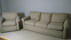 Lazy Boy couch and chair