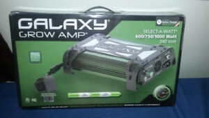 Galaxy 1000 Watt Select-A-Watt 240v Ballast $200