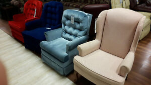 Rockers and Recliners