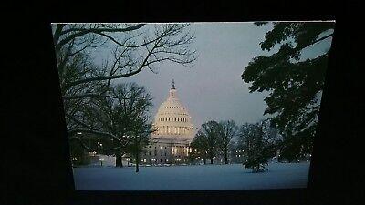POLITICAL CHRISTMAS CARD  CAPITOL BUILDING GOP REPUBLICAN SENATE Richard Lugar