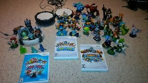 Wii Skylander Game and Characters
