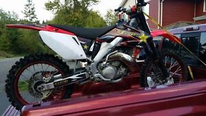 CR500AF, from a 2005 CRF250!!!