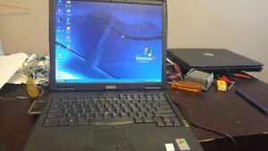 Two working Dell laptops (P3 and P4) with Windows XP Pro!