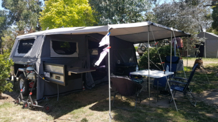 2018 mars titan camper trailer Wantirna South Knox Area Preview