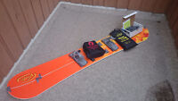 Volie Splitboard - with skins and crampons