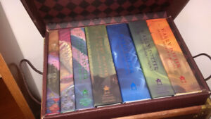 Harry Potter boxed set .. hardcover ..  new