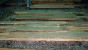 Birds eye maple lumber