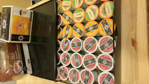 Keurig coffee tray with free pods