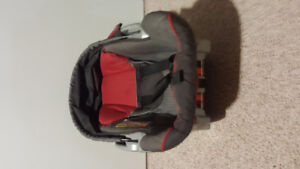 Baby carseat from a smoke and pet free home